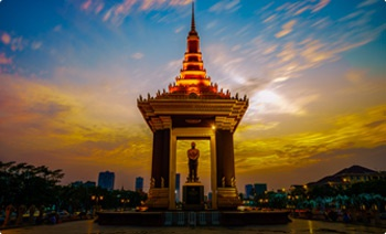 Flights from Bangkok to Phnom Penh